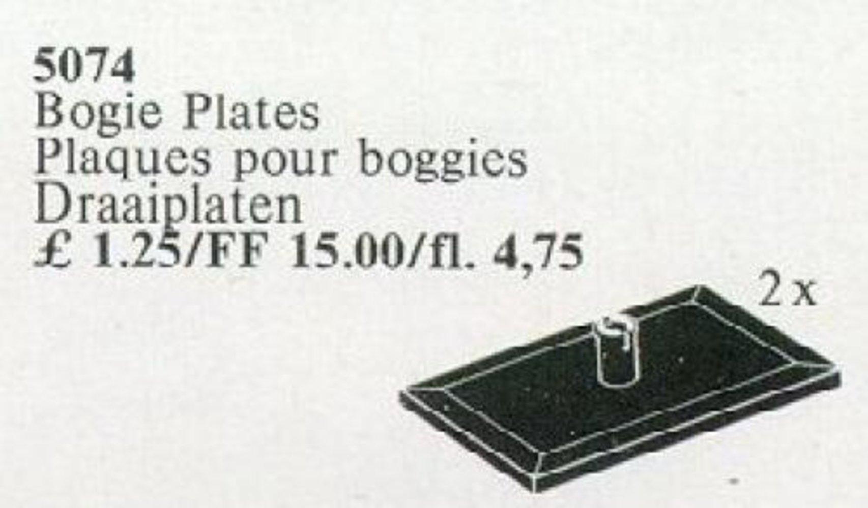 Bogie Plates, Black