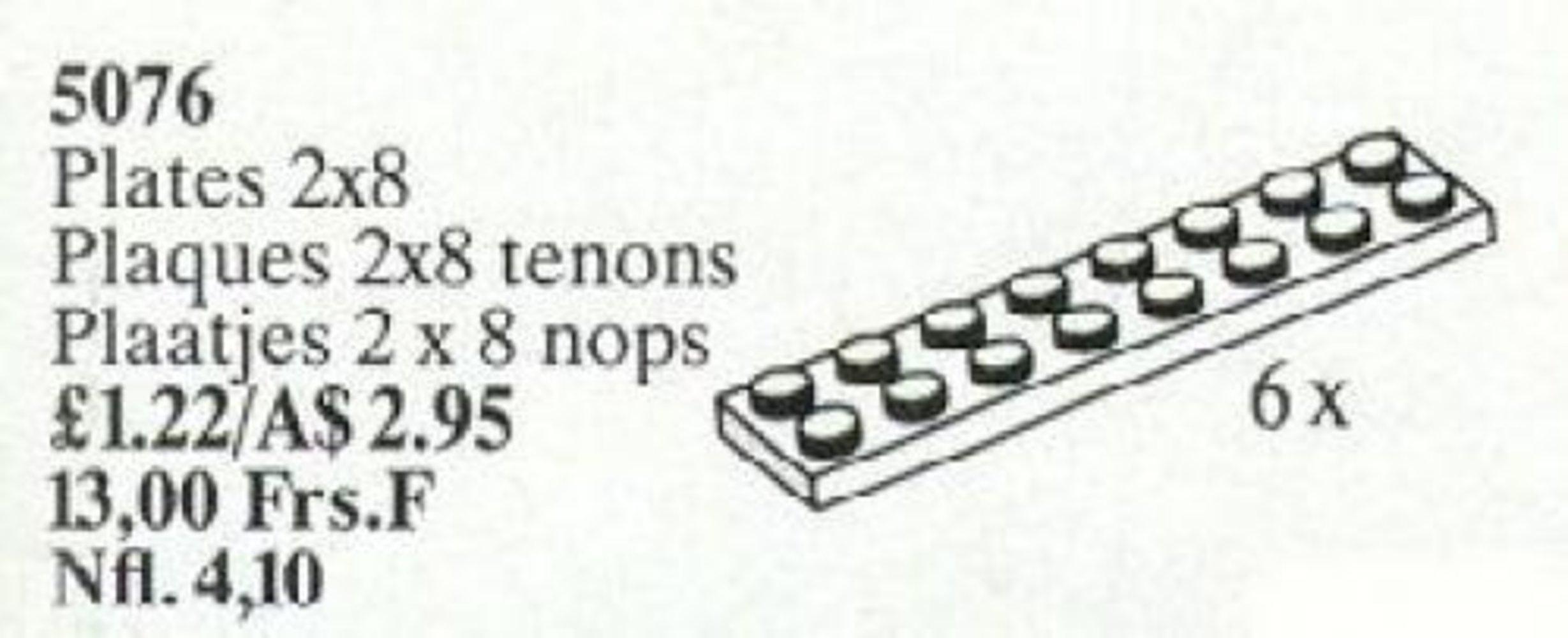 Plates 2 x 8