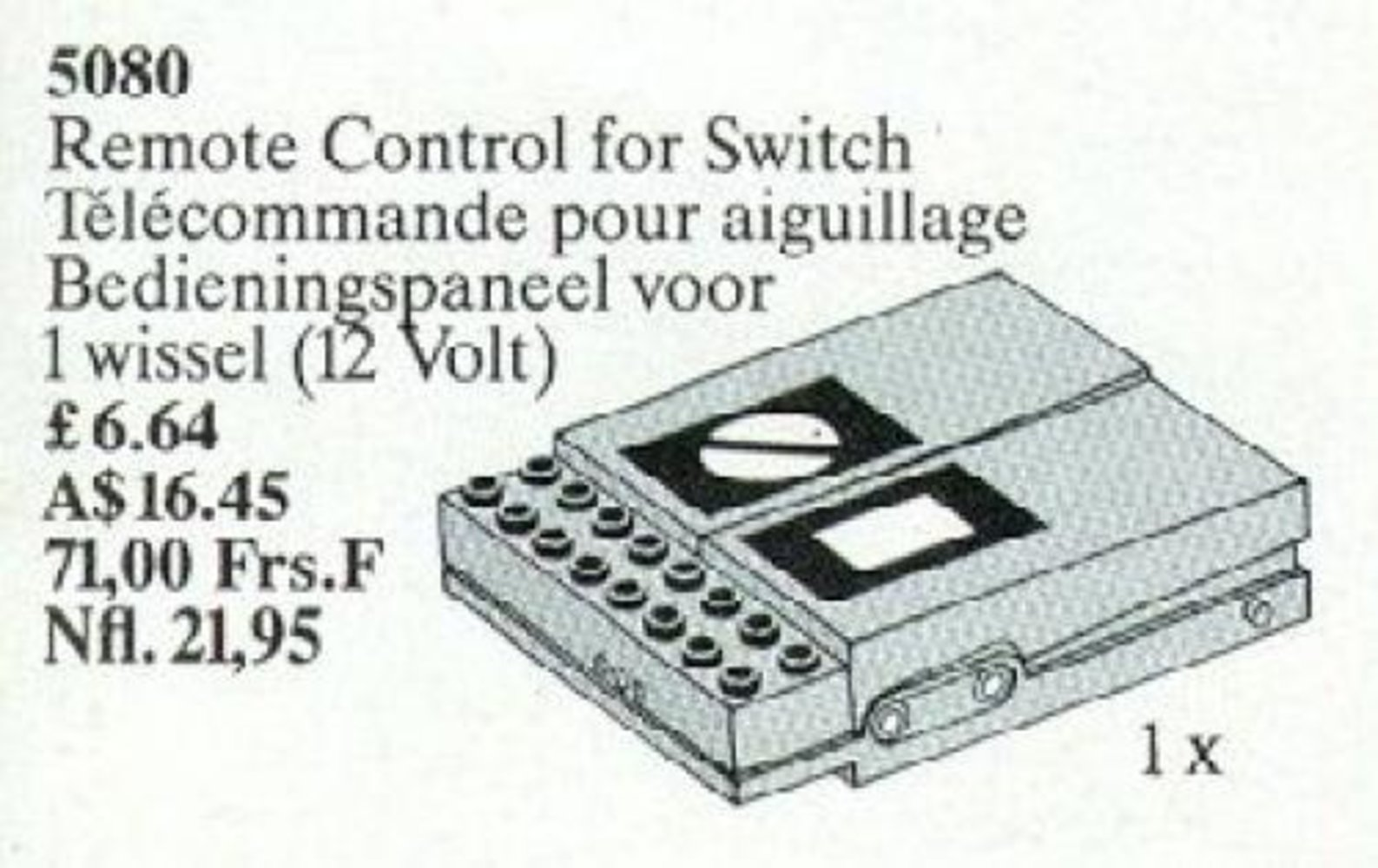 Remote Control for Switch