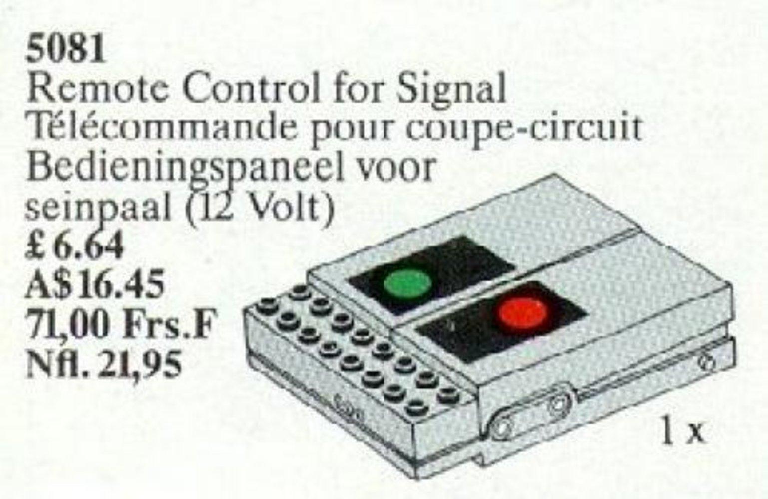 Remote Control for Signal