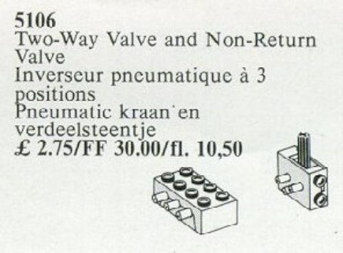 Two-Way Valve and Non-Return Valve