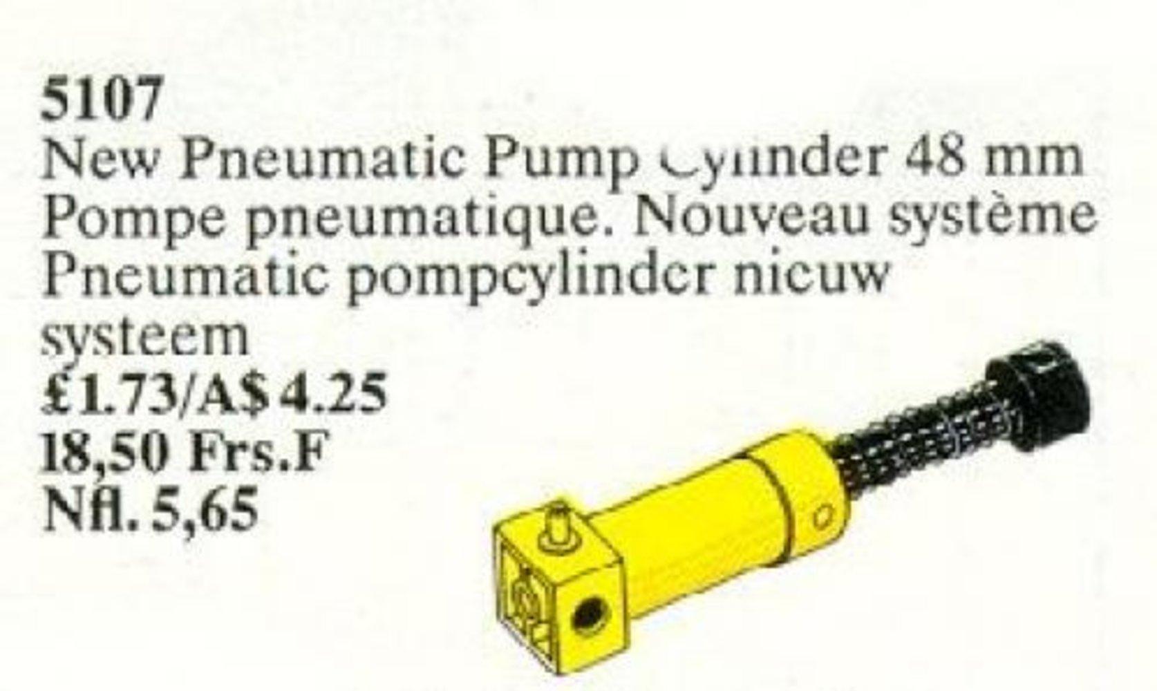 Pneumatic Pump 2 Cylinder