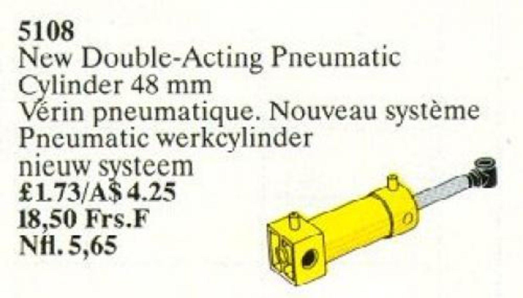 Pneumatic Piston 2 Cylinder