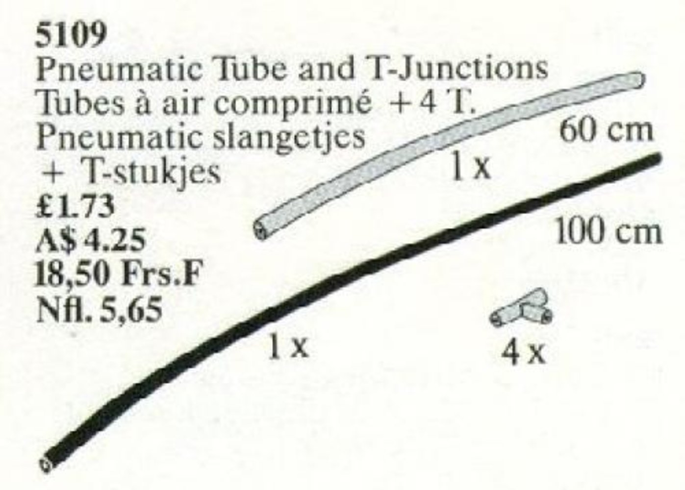 Pneumatic Tubes and Pieces
