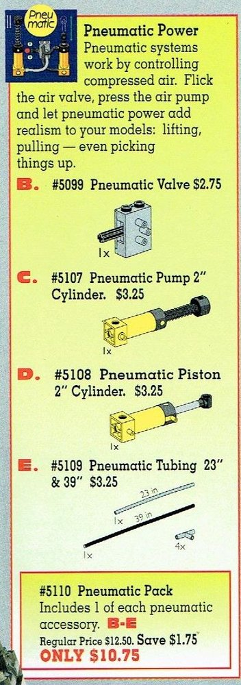 Pneumatic Value Pack