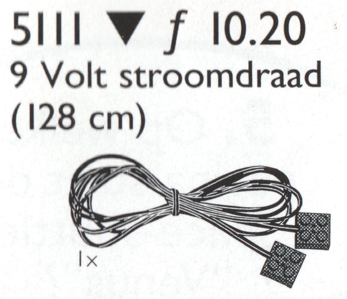 9V Motor Wire, 128cm