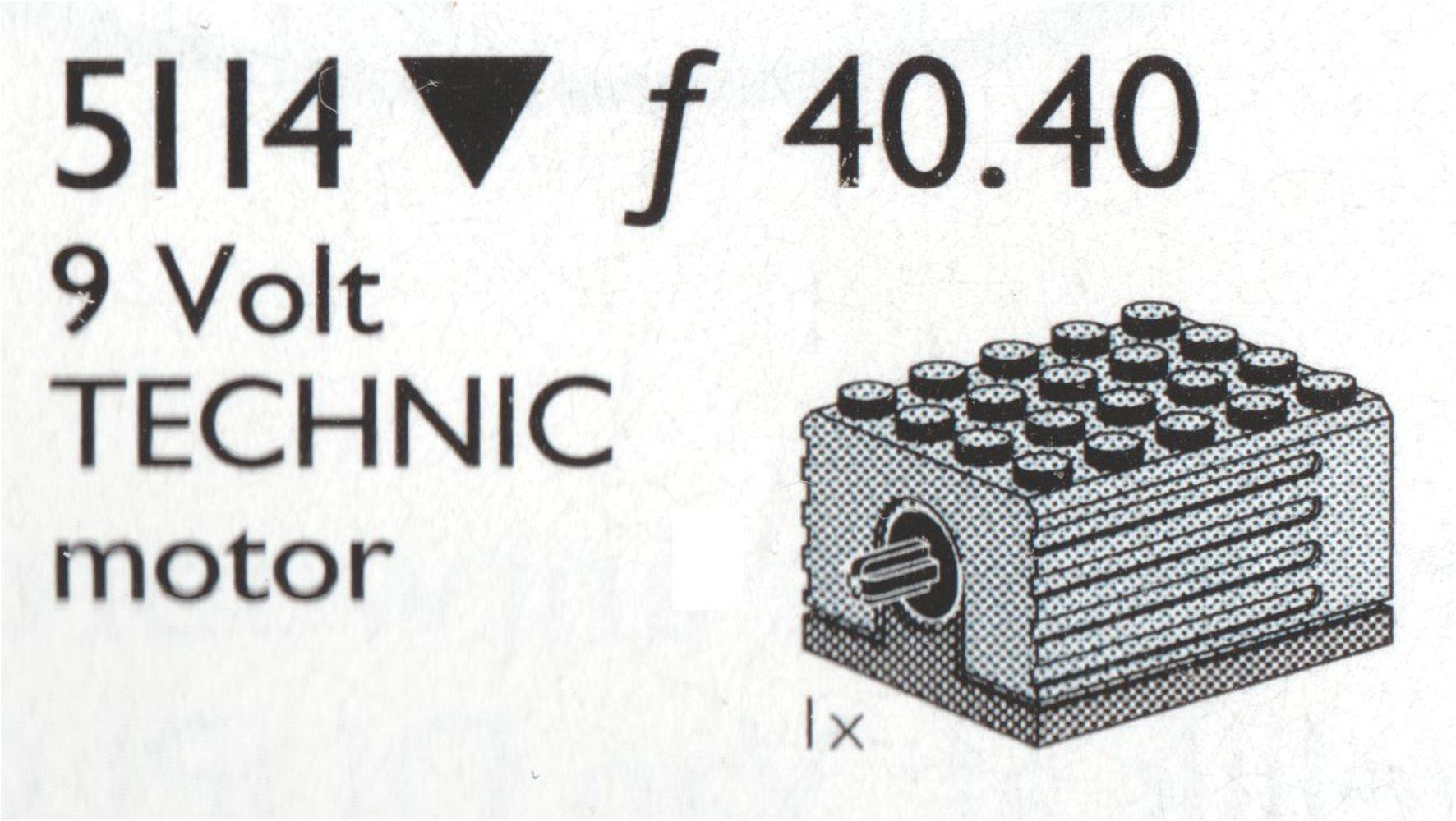 Extra 9 Volt Motor