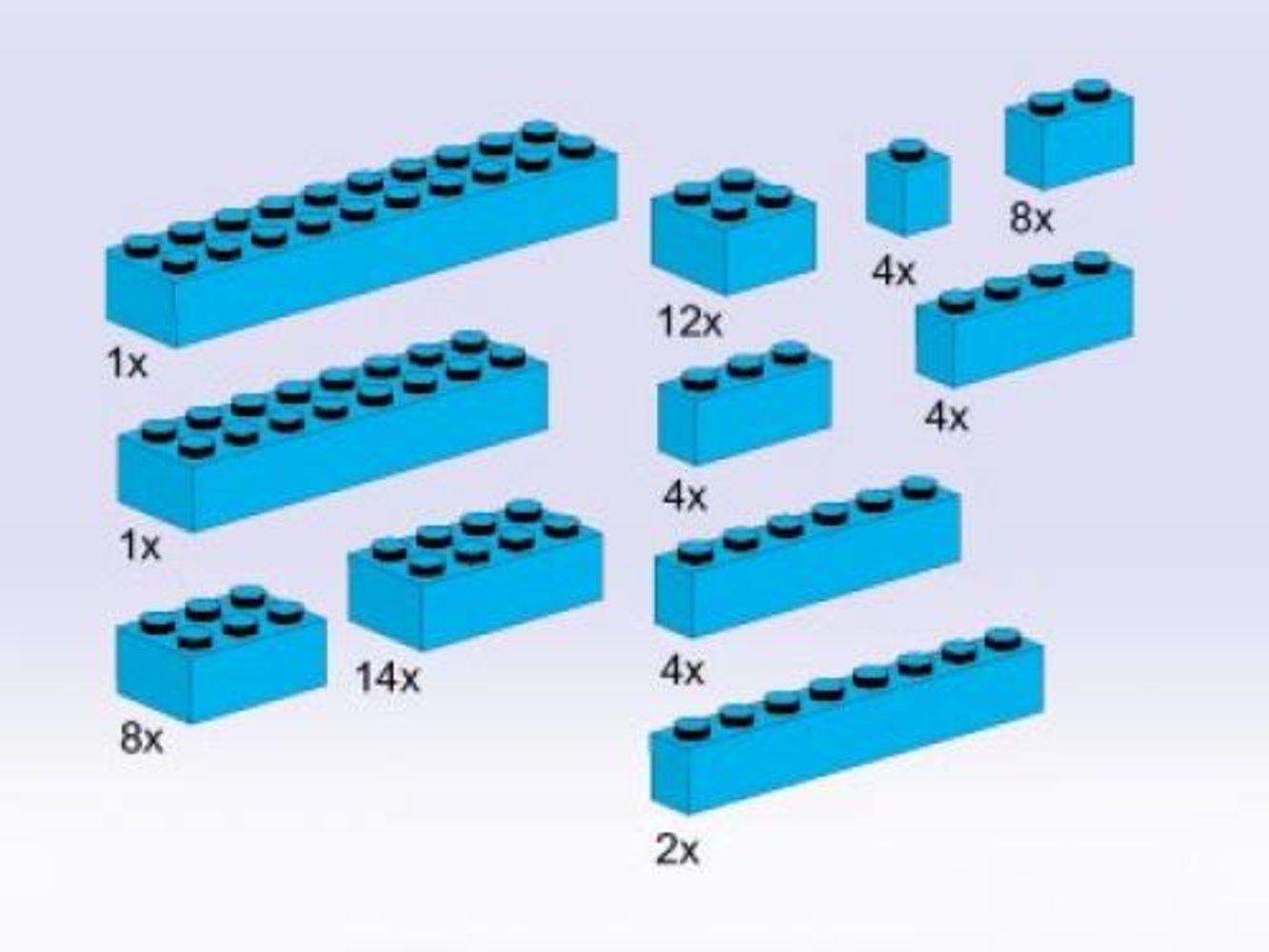 Bricks, Blue