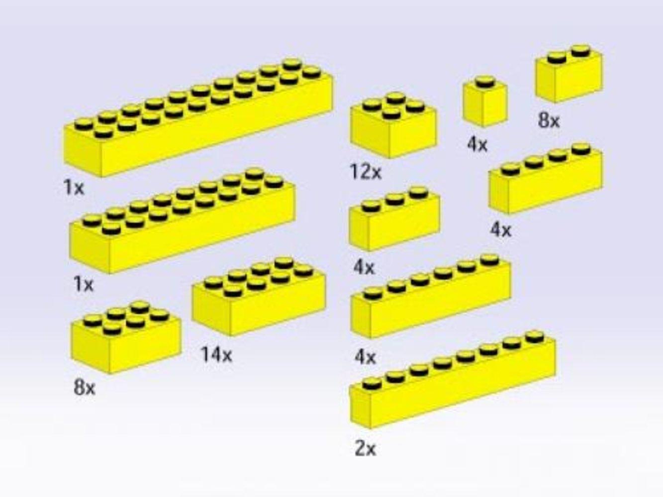 Bricks, Yellow