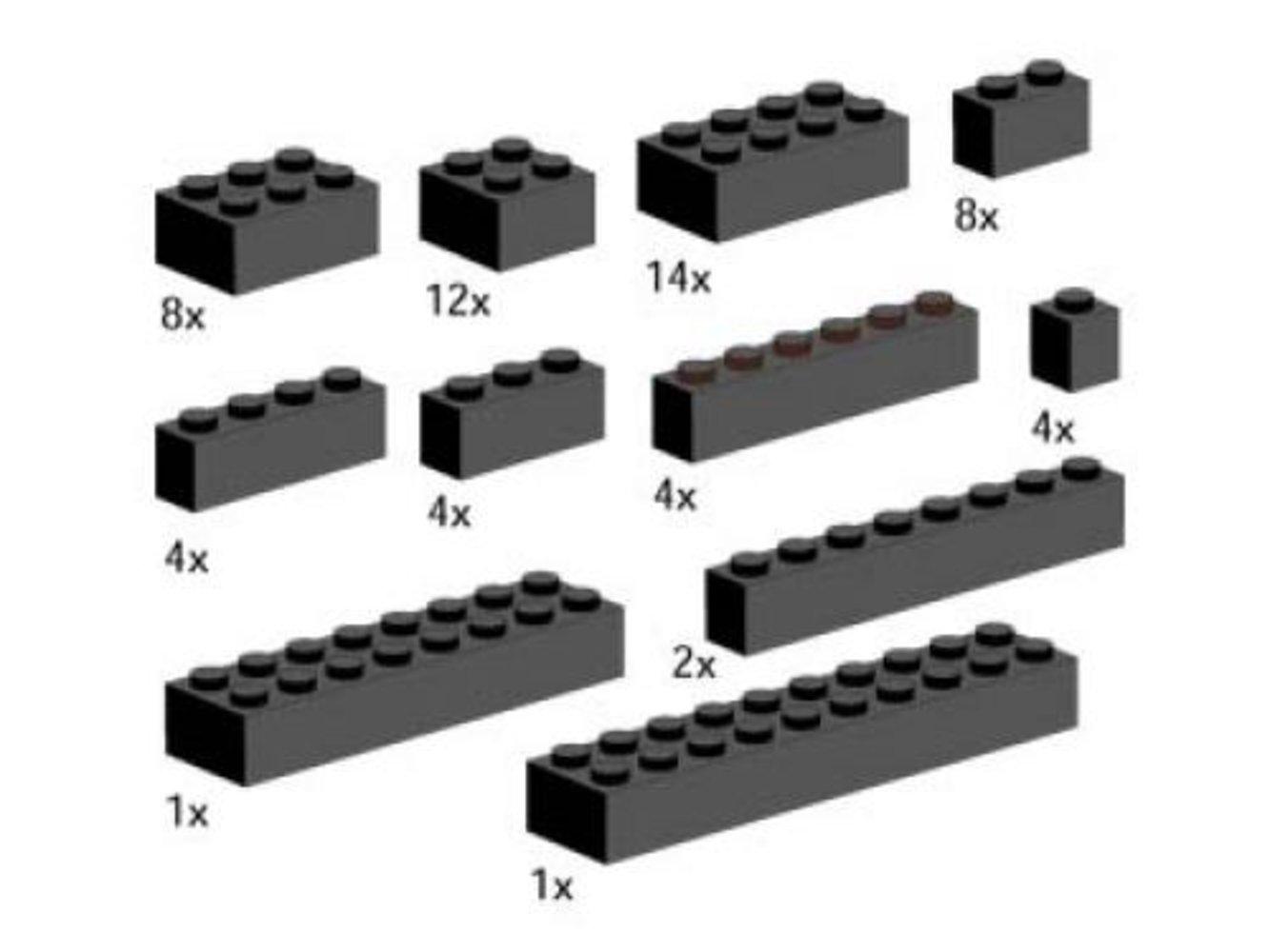 Bricks, Black