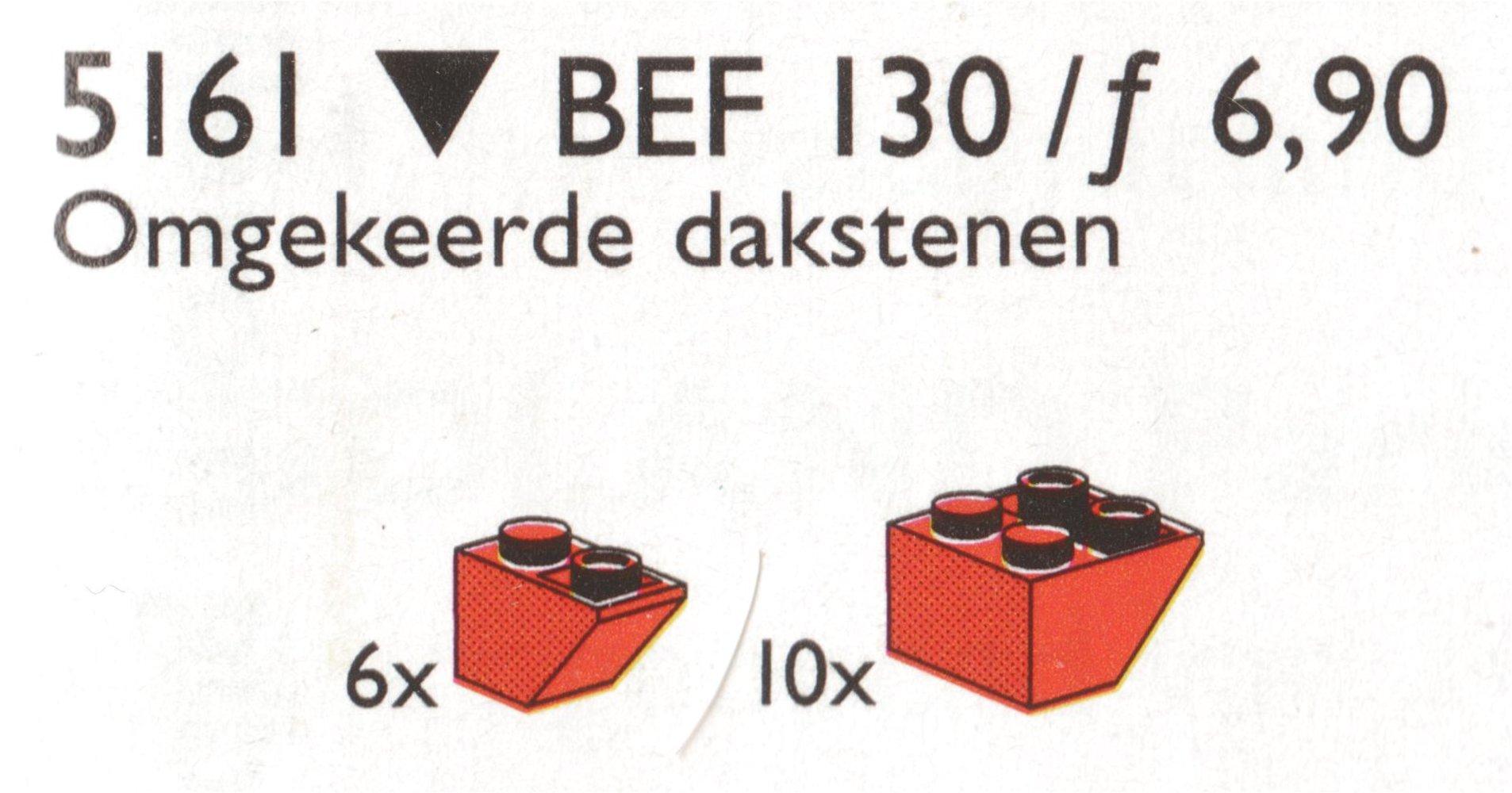 Inverted Slope Bricks