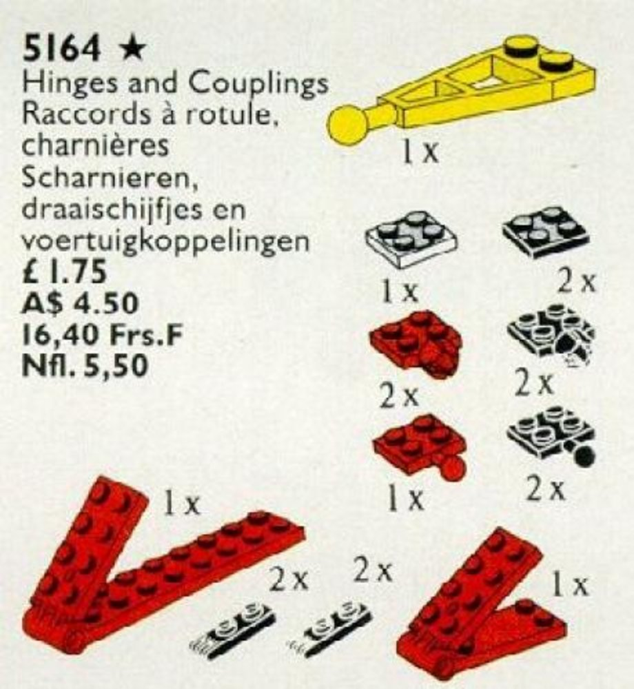Hinges, Turntables and Couplings