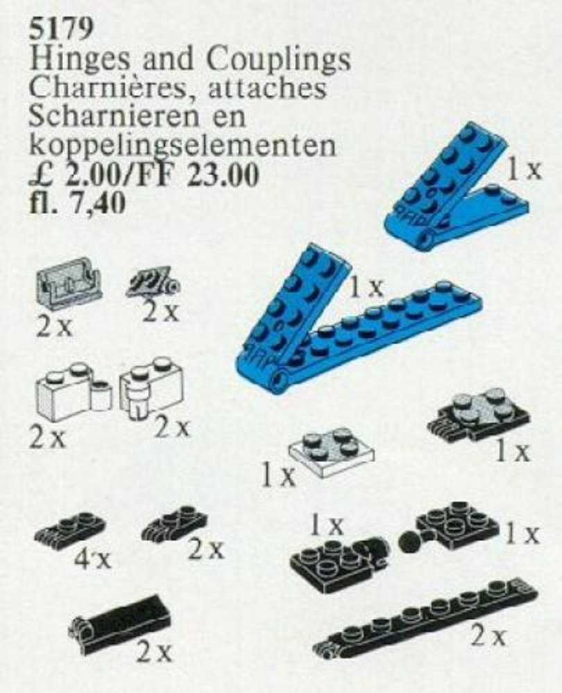 Hinges and Couplings