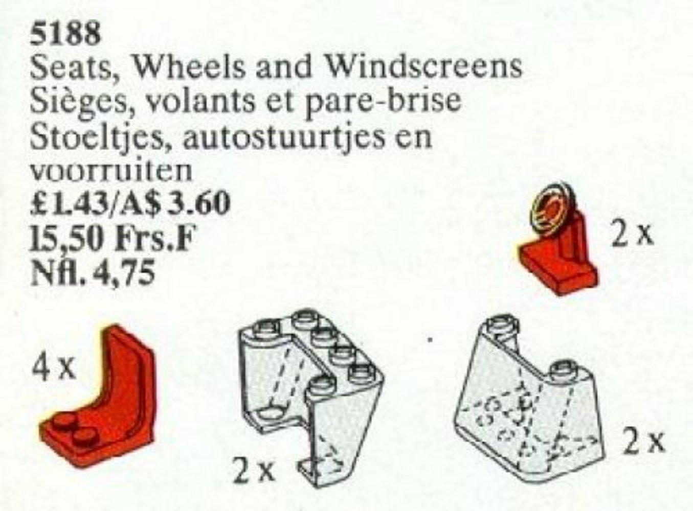 Seats, Steering Wheels and Windscreens