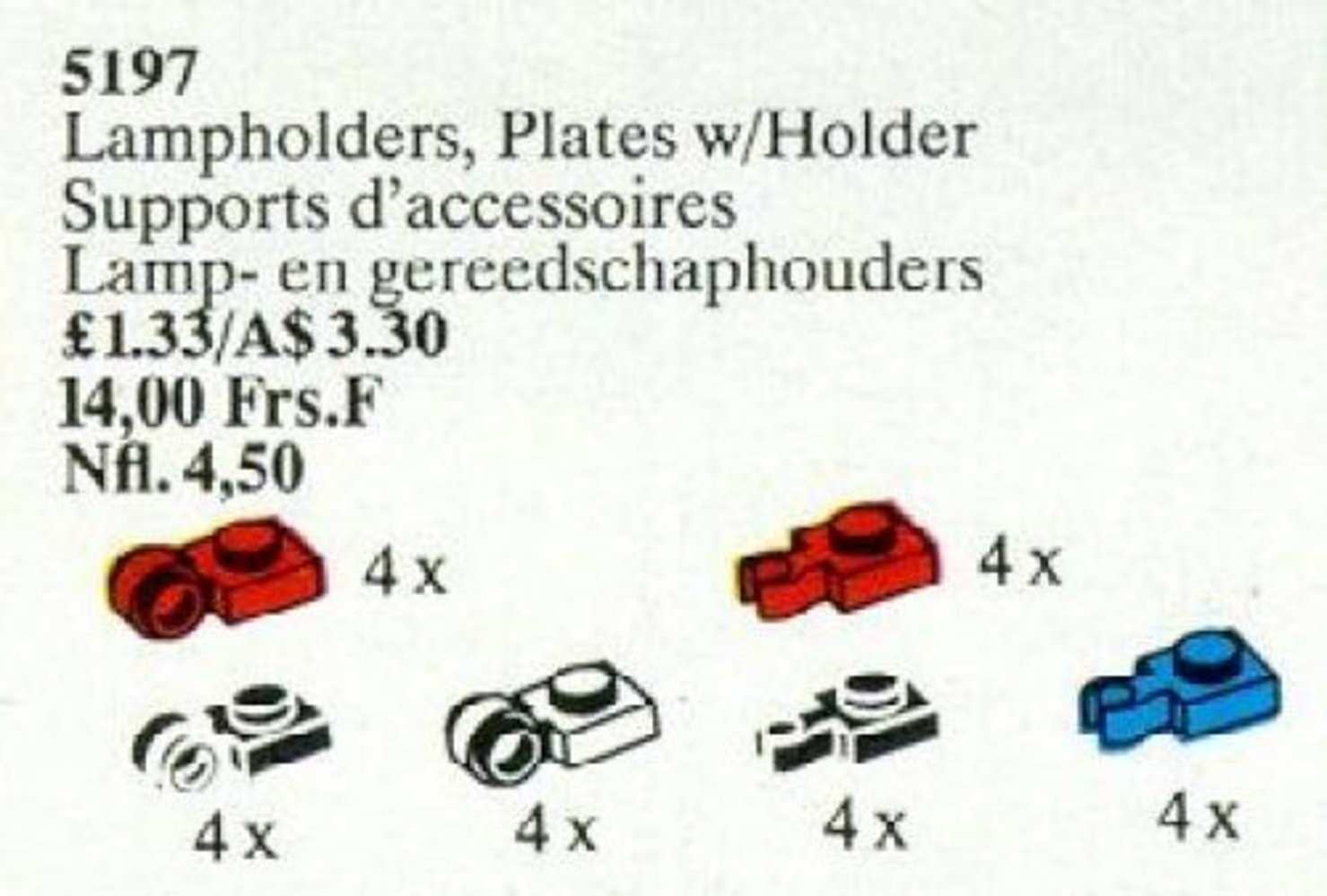 Lampholders, Plate with Holders