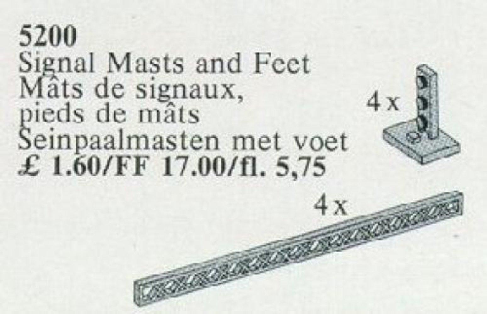 Signal Masts and Feet