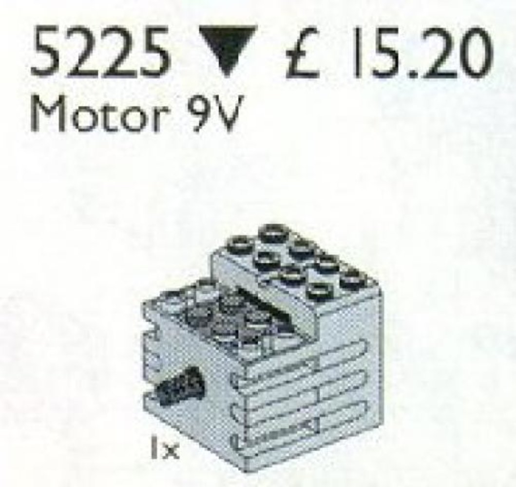 9v Motor with gear reduction