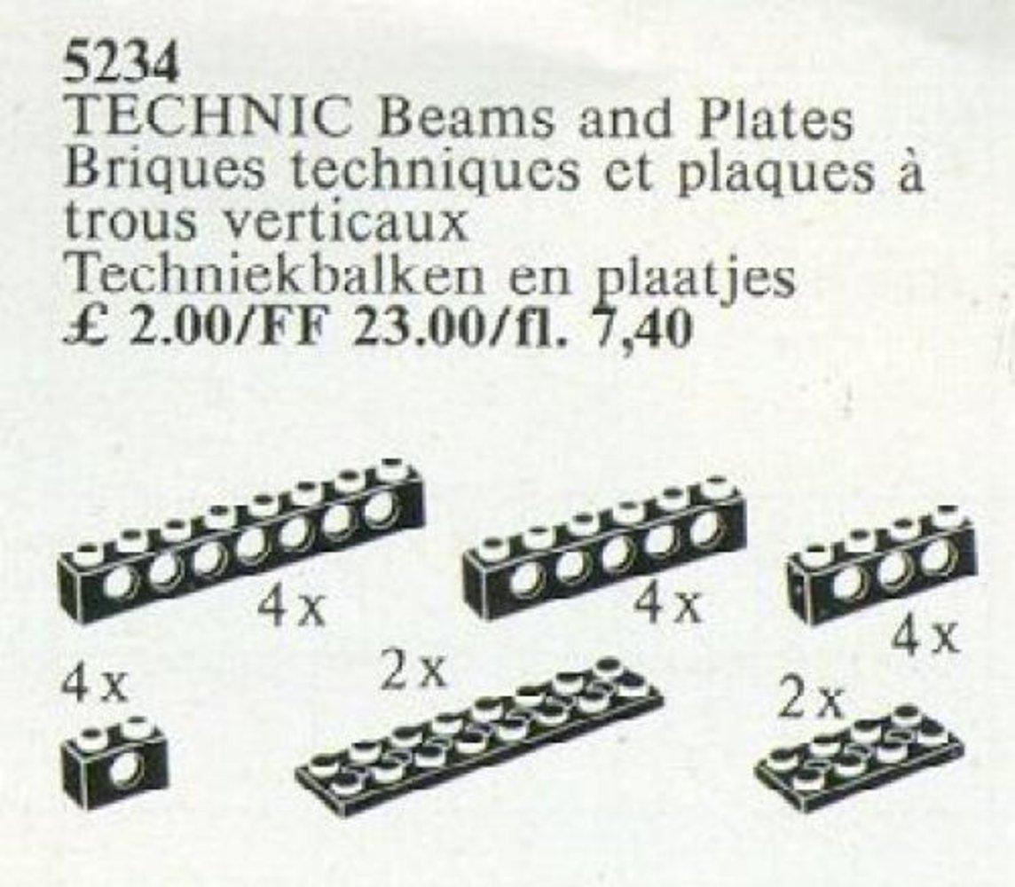 TECHNIC Beams and Plates {black}