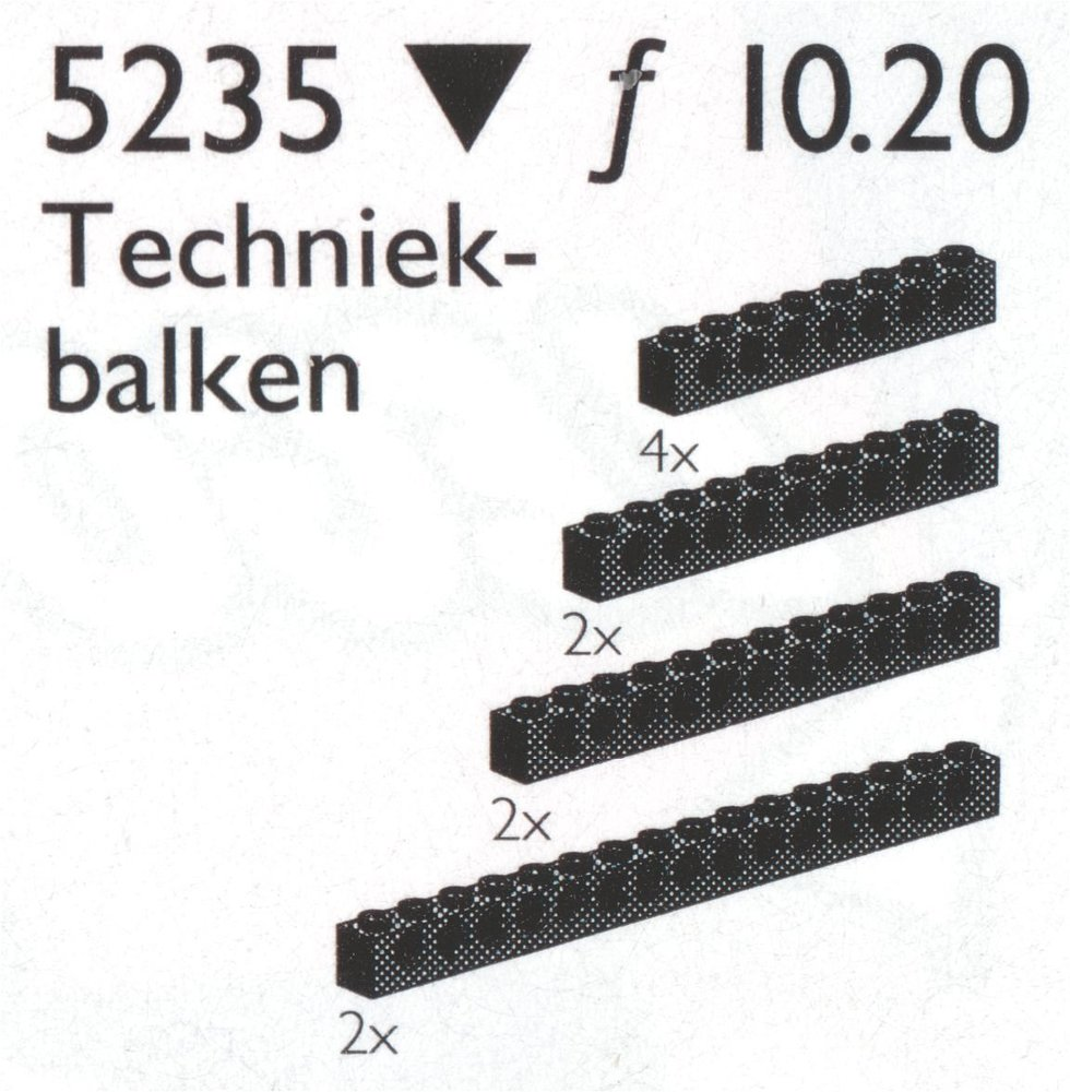 Large Beams with Holes