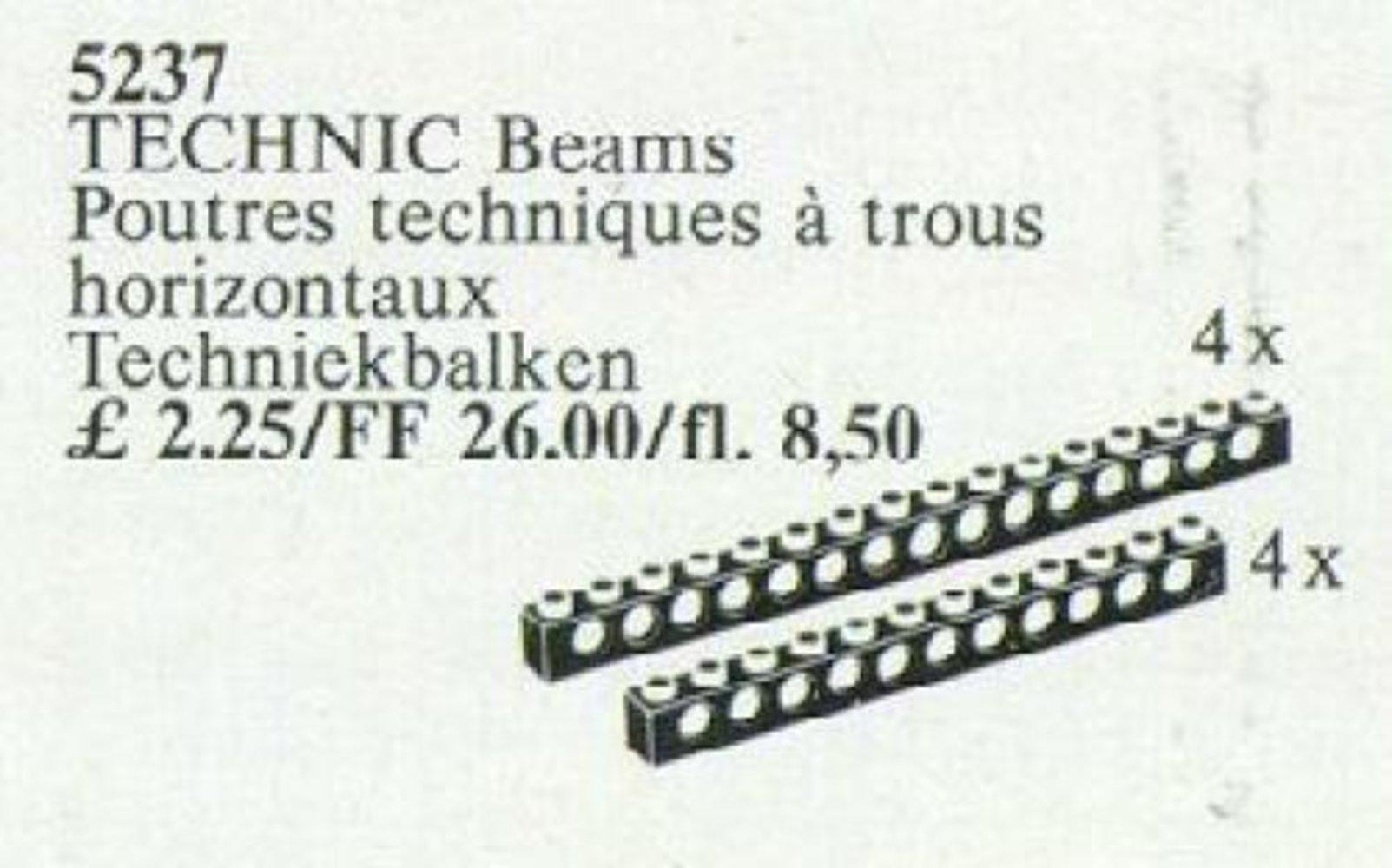 TECHNIC Beams {black}