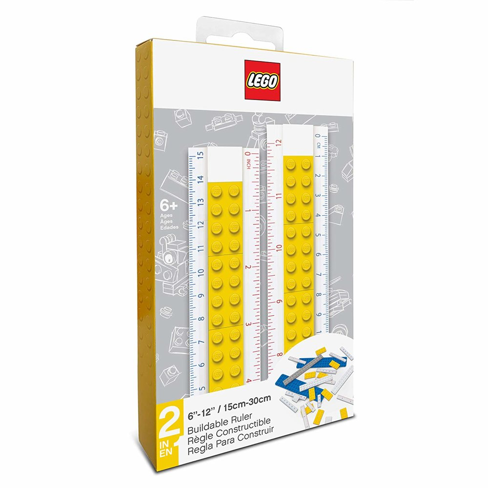 Buildable Ruler (Yellow)