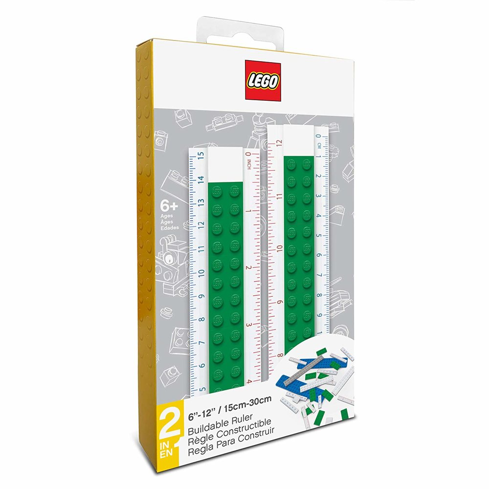 Buildable Ruler (Green)
