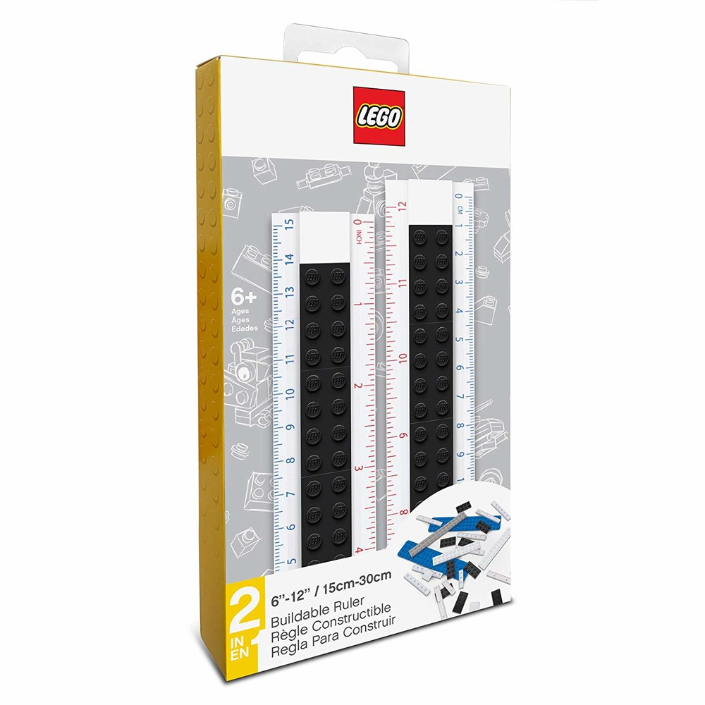 Buildable Ruler (Black)