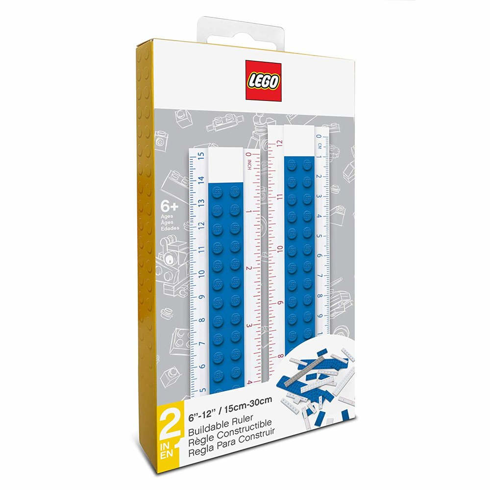 Buildable Ruler (Blue)