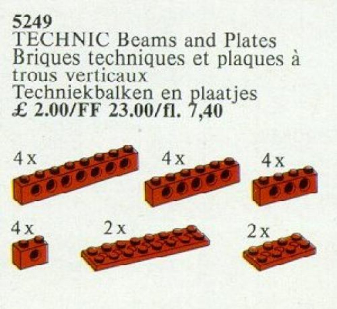 TECHNIC Beams and Plates [Red]
