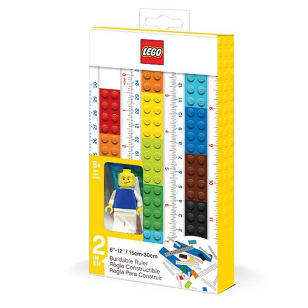 Buildable Ruler with Minifigure
