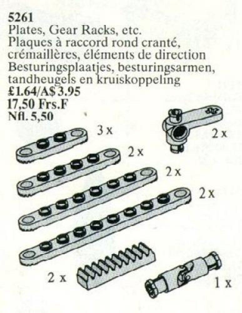 Plates, Gear Racks, etc.