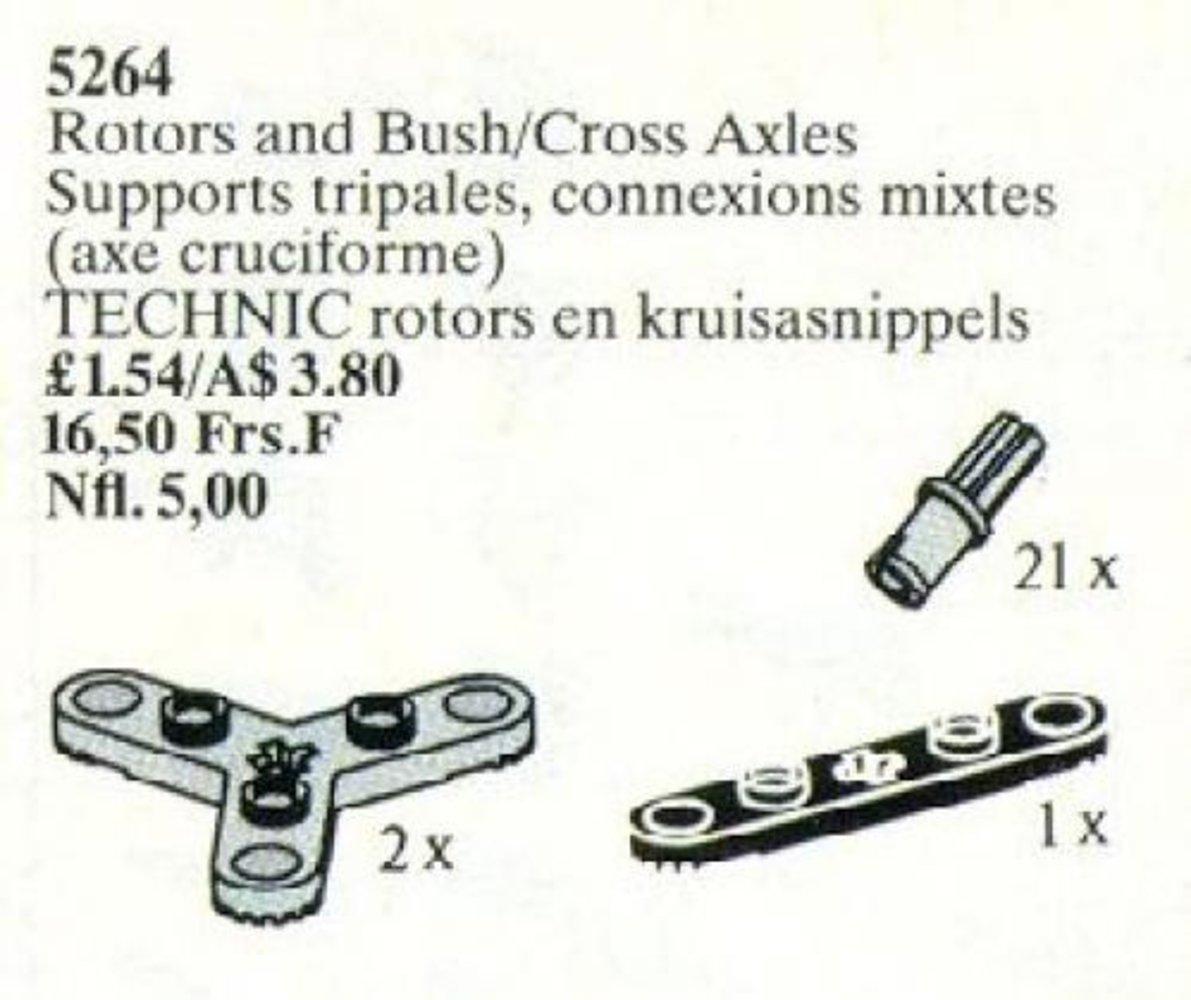 Rotors and Bush/Cross Axles