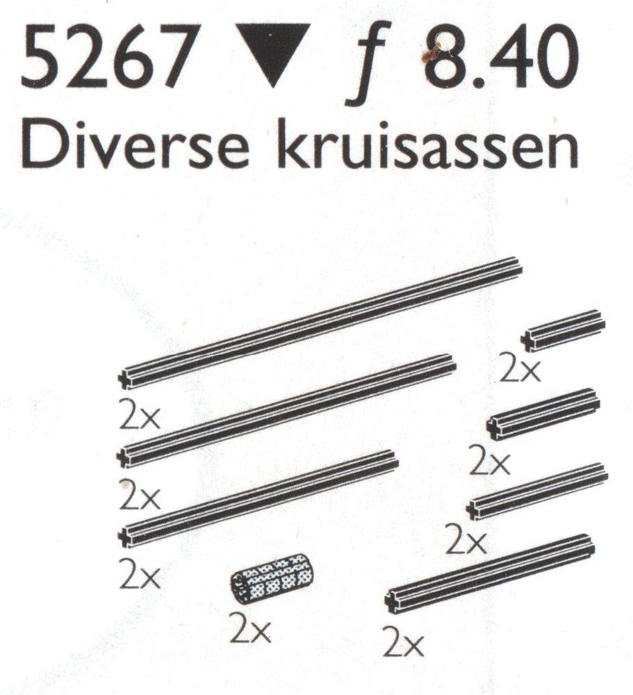 Cross Axles & Extensions