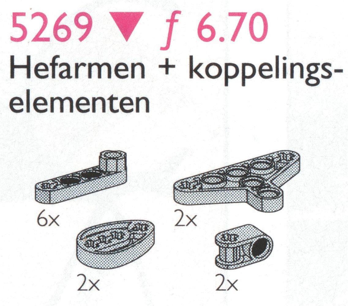 Liftarms & Triangles / Liftarms, Triangles etc.