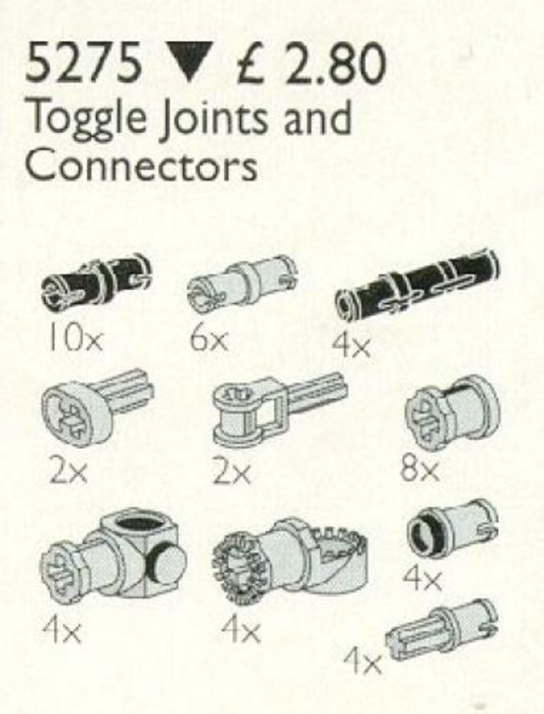 Toggle Joints and Connectors