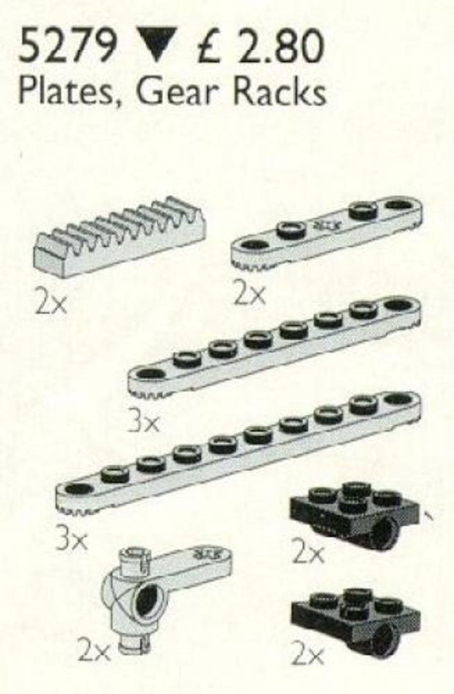Plates, Gear Racks