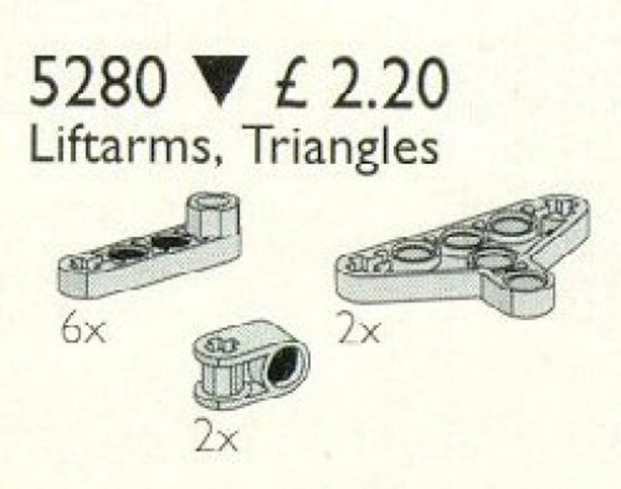 Liftarms & Triangles / Liftarms, Triangles