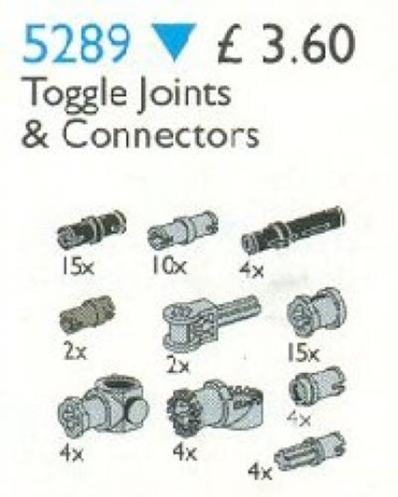 Toggle Joints & Connectors