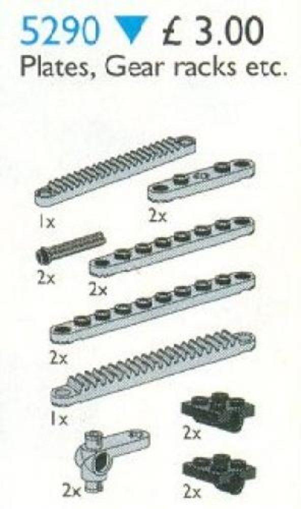 Plates & Gear Racks
