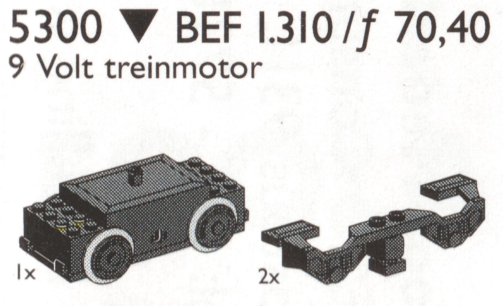 Electric Train Motor