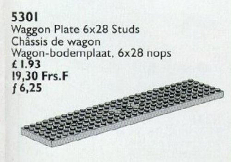 Wagon Plate 6 x 28