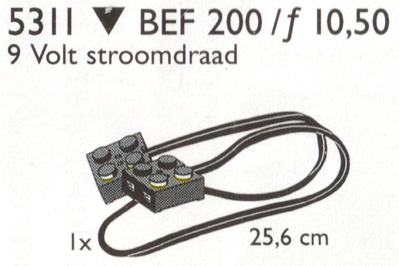 9V Wires (25.6 cm)