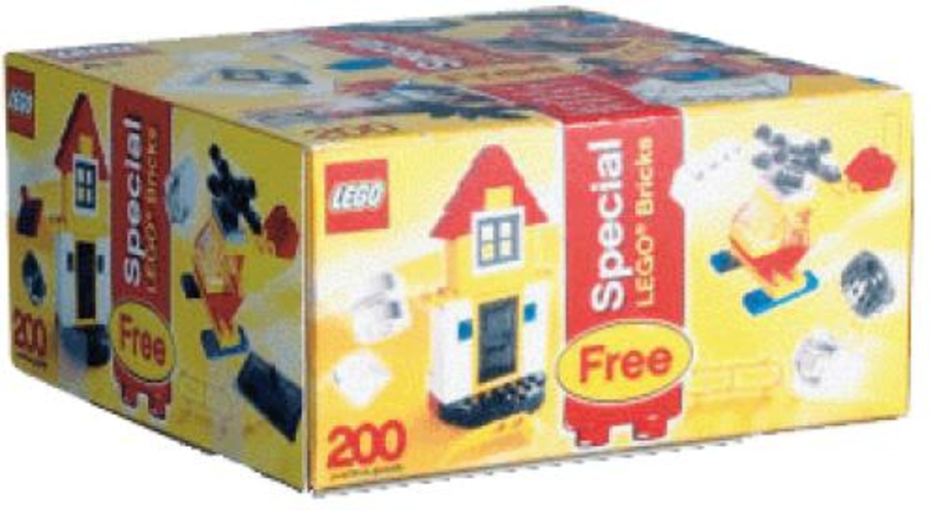 Large Make and Create Bucket with Special LEGO Bonus Bricks (Bonus box and its contents only)
