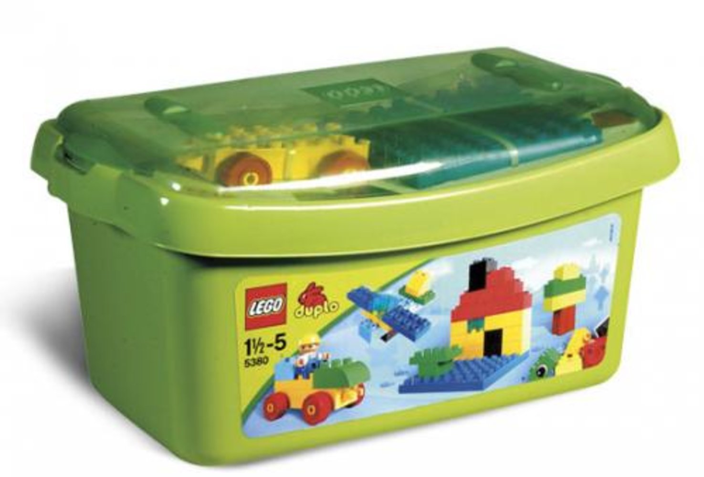 Large Brick Box - Green Plate
