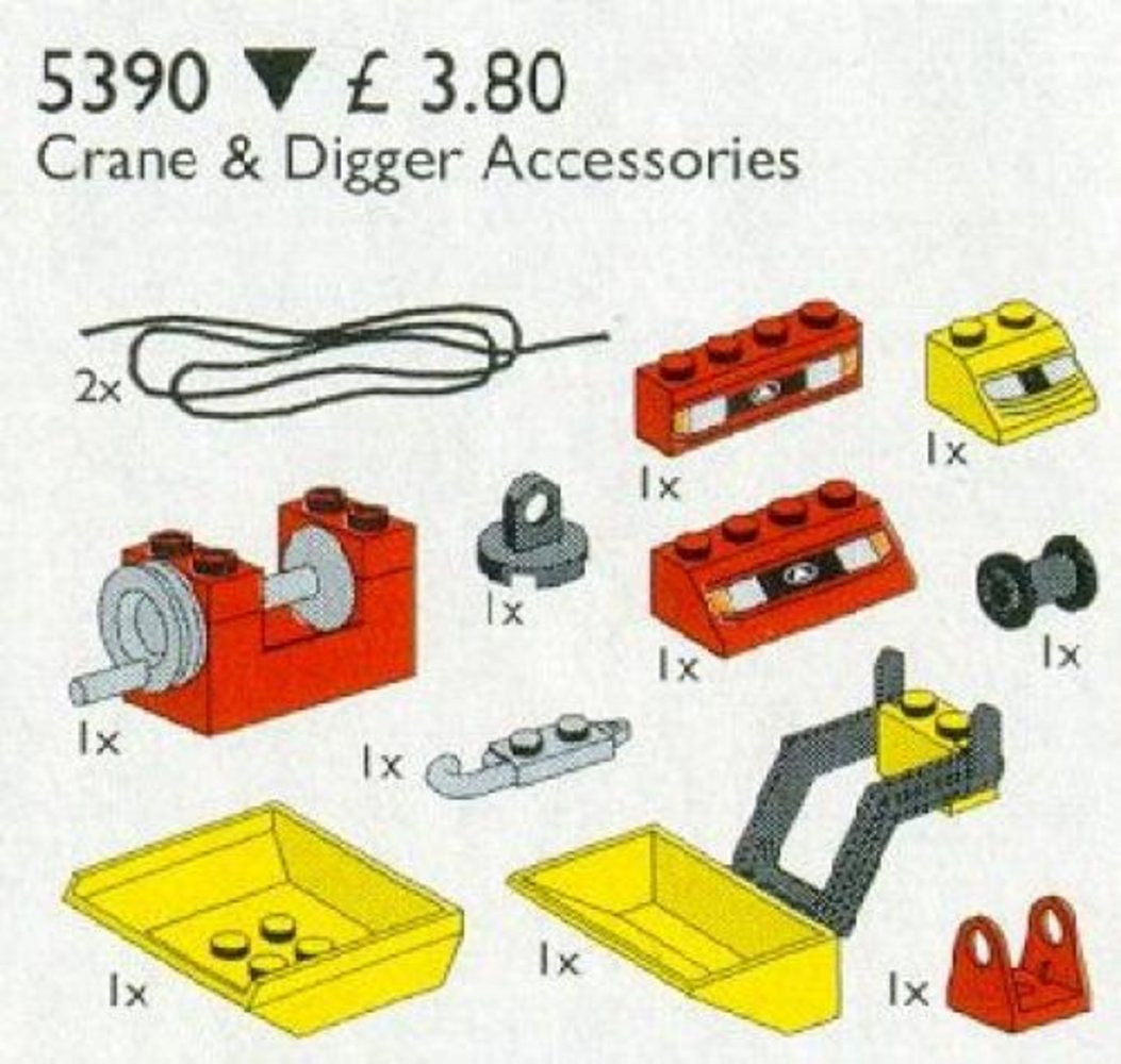 Crane and Digger Accessories