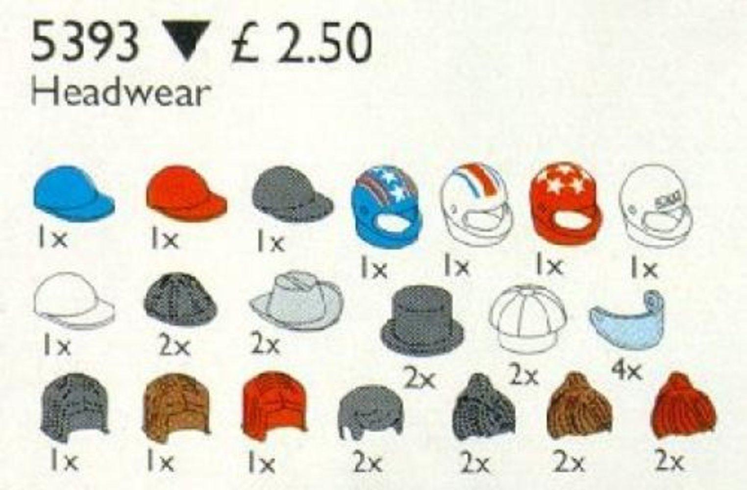 Headgear (Hats and Hair)