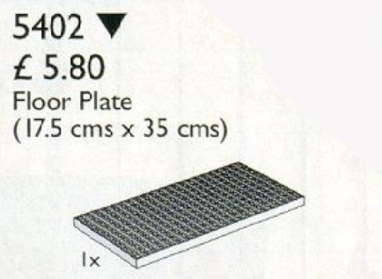 Floor Plate 1/2