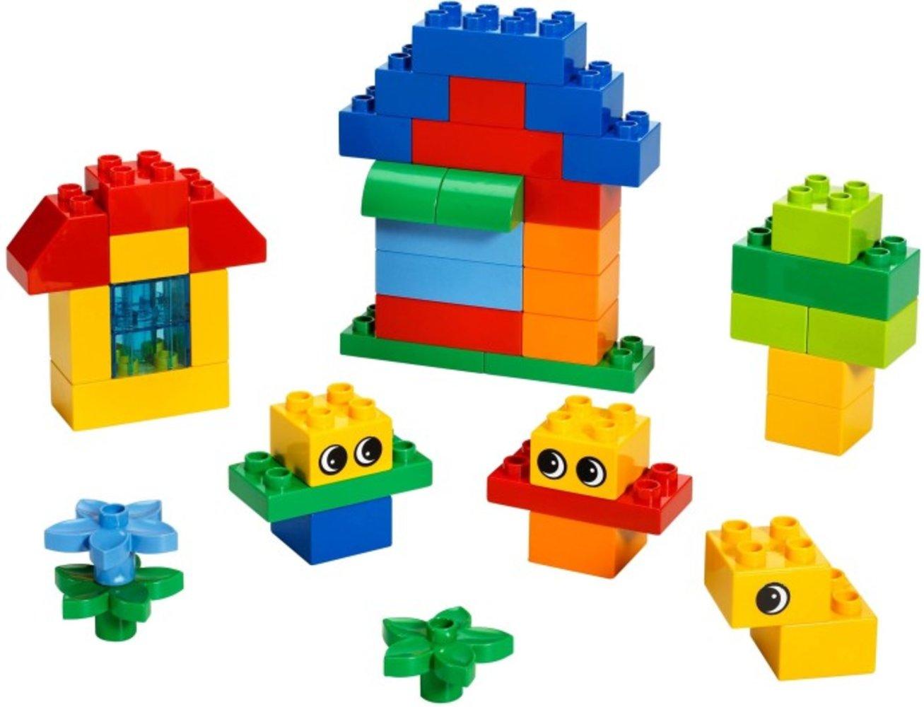 Fun With Duplo Bricks