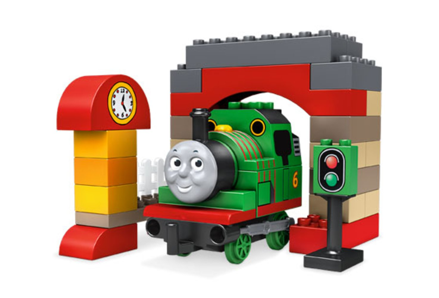 Percy at the Sheds