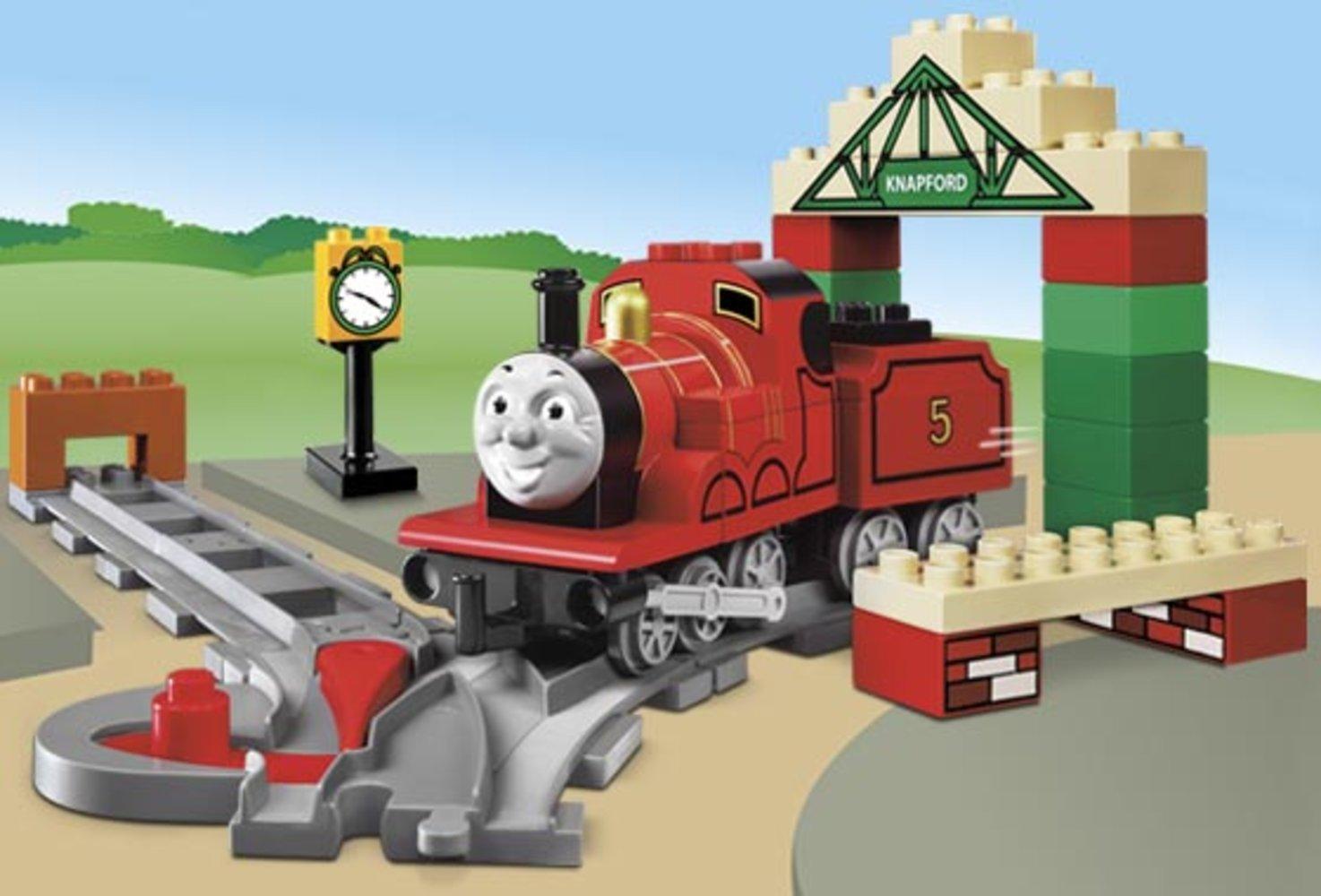 James at Knapford Station